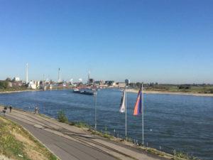 Krefeld-Duisburg - Rheinradtour - Rheinradweg Duisburg
