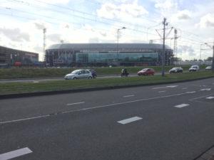 Feynoord Rotterdam Stadion - Rheinradweg Rotterdam