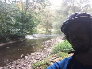 Pforzheim Mündung Würm in Nagold - Würmtalradweg - Ende Radtour