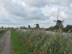 Windmühlen Kinderdijk - Nieuwe Waterschap - UNESCO-Weltkulturerbe
