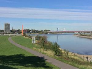 Rhein und Ruhr - Zusammenfluss - Fahrrad-Unterkünfte in Duisburg