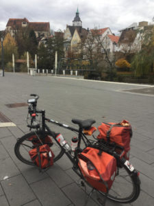 Backnang - Altstadt - Murr - Murrtalradweg