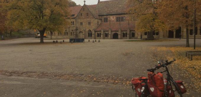 Kloster Maulbronn mit Fahrrad - Stromberg-Murrtal-Radweg