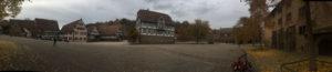 Panorama-Bild - Kloster Maulbronn - Stromberg-Murrtal-Radweg