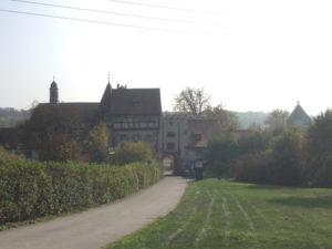 Schloss Beuggen - Rheinfelden - Torbogen - Südschwarzwaldradweg - Rheinradweg