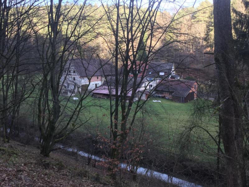 Kleinmichelsmühle - Siebenmühlentalradweg