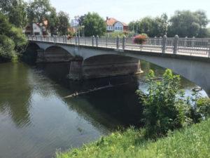 Scheer - Donaubrücke - Donauradweg - Fahrrad-Unterkunft in Scheer