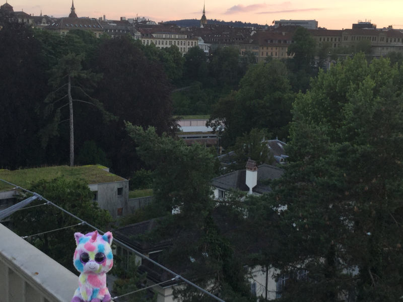 Bern - Aare - Europaradtour - Babyeinhorn