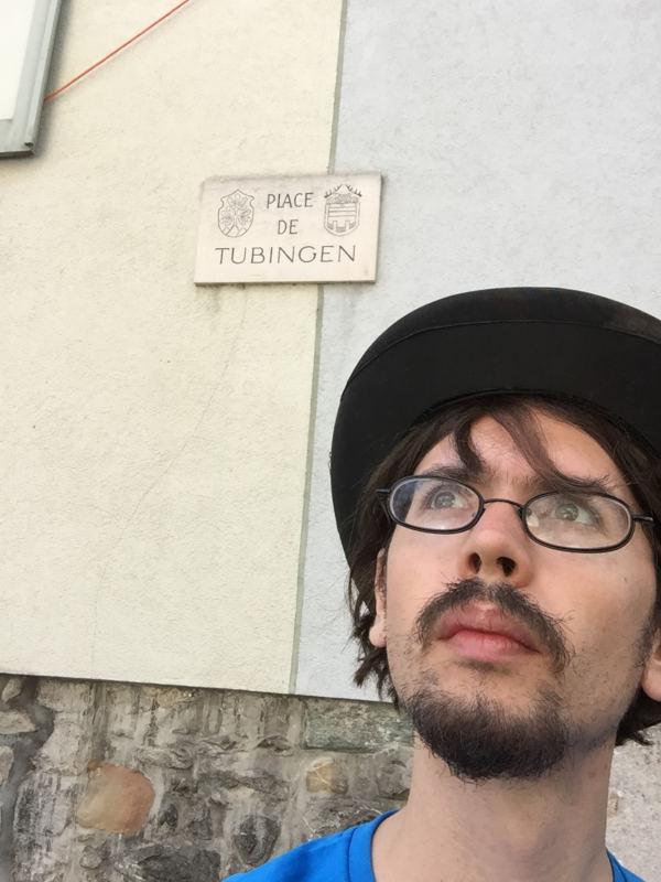 Place de Tübingen - Monthey - französische Schweiz