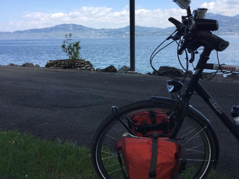 Genfer See - Route des Grandes Alpes