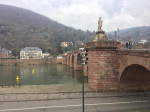 Alte Brücke Heidelberg - Heidelberg-Schwarzwald-Bodensee-Radweg
