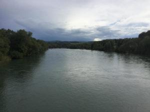 Die Aare - Aaremündung in den Rhein - Rheinradweg - Fahrrad-Unterkunft in Koblenz