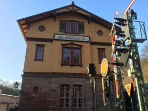 Pforzheim-Dillweißenstein - Bahnhof Weißenstein - Heidelberg-Schwarzwald-Bodensee-Radweg