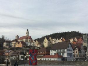 Horb am Neckar - Heidelberg-Schwarzwald-Bodensee-Radweg - Isenburg