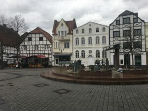 Innenstadt von Kamen - Route der Industriekultur per Rad