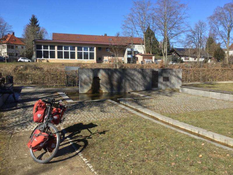 Neckarursprung Schwenningen - Heidelberg-Schwarzwald-Bodensee-Radweg