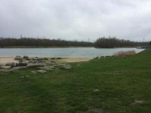 Seepark Lünen - See - Strand - Route der Industriekultur per Rad