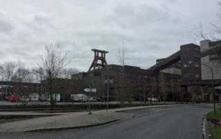 Zeche Zollverein Essen - Route der Industriekultur per Rad