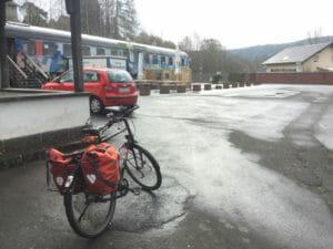 Alter Bahnhof Daun - Maare-Mosel-Radweg