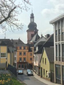 Kirche in Wittlich - Busbahnhof Wittlich - Maare-Mosel-Radweg