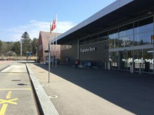 Flughafen Bern-Belp - Aareradweg