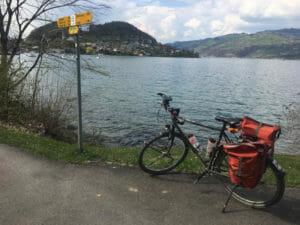 Thuner See - Aare-Radweg
