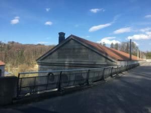 Wasserkraftwerk Mühleberg - Aare-Radweg - Aareradweg - Wohlensee