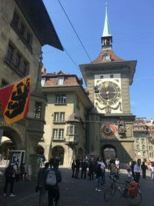 Zytglogge - Bern - Zeitglockenturm - Aare - Radweg
