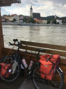 Grein an der Donau - Fahrradfähre - Donaufähre - Donauradweg Österreich