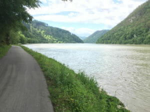 In Haibach ob Donau - Donauradweg Österreich