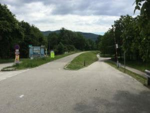 Hinter Linz - Donauradweg Österreich