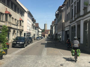Rheineck Schweiz Bodenseeradweg - Radtour