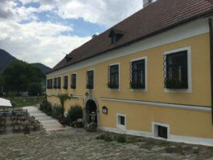 Klosterhof Wachau - Weinprobe - Donauradweg nach Wien