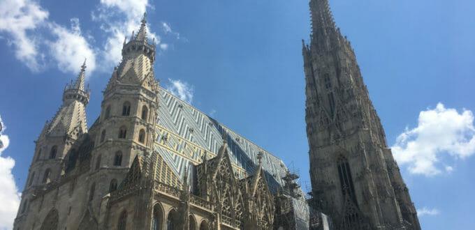 Der Stephansdom in Wien - die Mitte Wiens