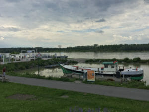 Tulln an der Donau - Donauradweg nach Wien