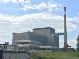AKW - ehemaliges Kernkraftwerk - Zwentendorf an der Donau - Donauradweg nach Wien
