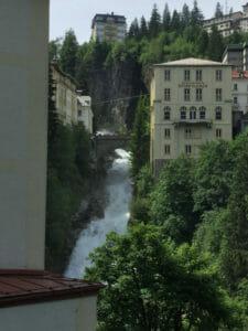 Bad Gastein - Wasserfall - Alpe-Adria-Radweg