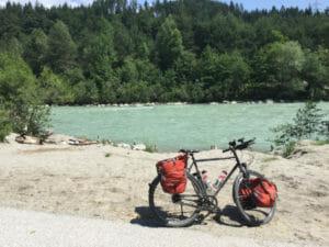 Gail - zwischen Villach und Müllnern - Fahrrad am Fluss - Mölltalradweg