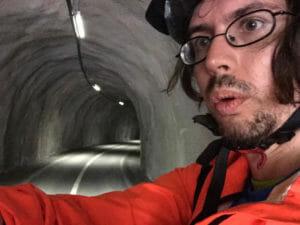 Fahrradtunnel - Dorfgastein - Bad Gastein - Alpe-Adria-Radweg
