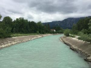 Salzach - Hallein-Rif - Alpe-Adria-Radweg