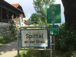 Spittal an der Drau - Alpe-Adria-Radweg