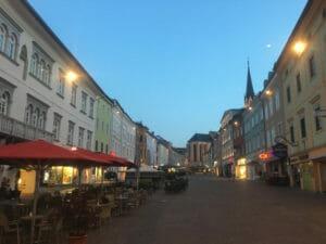 Villach an der Drau - Innenstadt - Alpe-Adria-Radweg