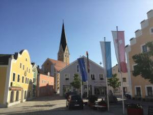 Dietfurt an der Altmühl - Altmühltalradweg - Fünf-Flüsse-Radweg
