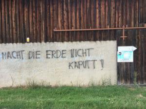 Macht die Erde nicht kaputt - Sulzbach-Rosenberg - Fridays for Future-mäßig?