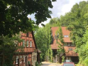 Felsen Sägmühle - Leonberg - Glemsmühlenradweg