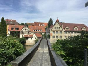 Lauf an der Pegnitz - Altstadt - Fünf-Flüsse-Radweg