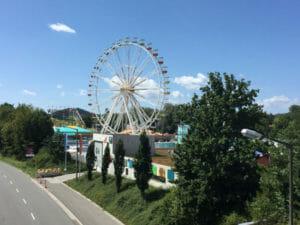 Neumarkter Jura-Volksfest - Riesenrad - Neumarkt in der Oberpfalz - Radtour