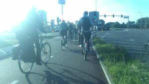 Rotterdam - Radfahrer - Niederlande - Fahrradkultur - Fahrradinfrastruktur