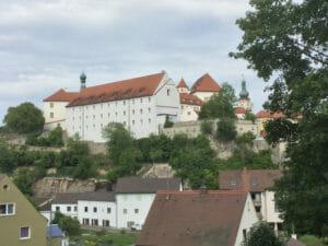 Sulzbacher Schloss bei Sulzbach-Rosenberg - Fünf-Flüsse-Radweg
