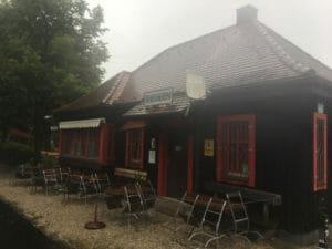 Bahnhof von Theuern - Bahntrassenradweg - Fünf-Flüsse-Radweg